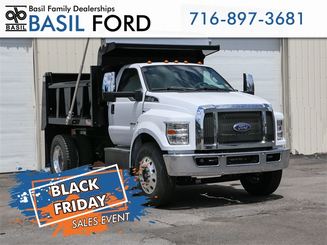 2019 F-650 Regular Cab DRW 4x2,  Rugby Dump Body #190825TZ - photo 1