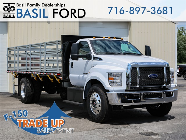 2019 F-650 Regular Cab DRW 4x2,  Morgan Stake Bed #190857TZ - photo 1