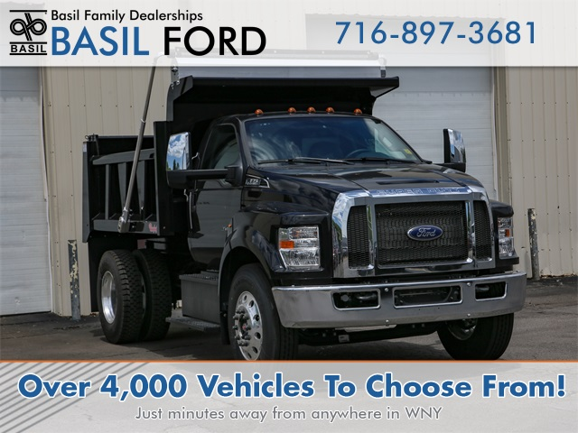 2019 F-650 Regular Cab DRW 4x2, Rugby Dump Body #190858TZ - photo 1
