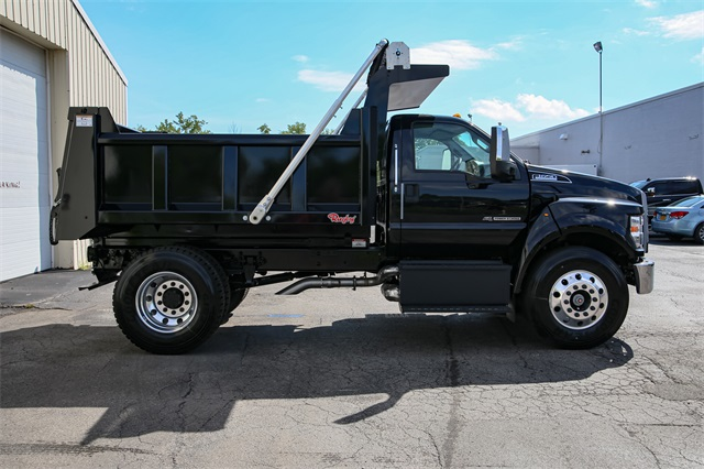 2019 F-650 Regular Cab DRW 4x2,  Rugby Dump Body #190859TZ - photo 1