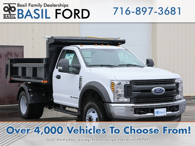 2019 F-550 Regular Cab DRW 4x4,  Air-Flo Pro-Class Dump Body #190982TZ - photo 1