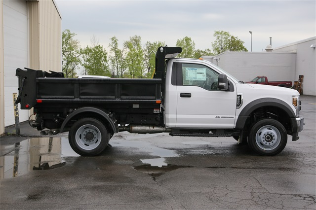 2019 F-550 Regular Cab DRW 4x4, Air-Flo Dump Body #190982TZ - photo 1