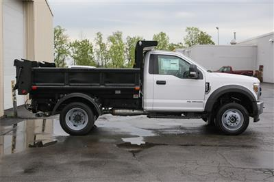 2019 F-550 Regular Cab DRW 4x4,  Air-Flo Pro-Class Dump Body #190982TZ - photo 2
