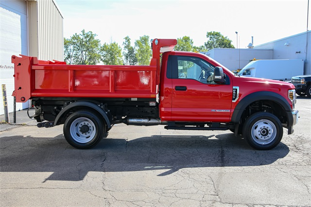 2019 F-550 Regular Cab DRW 4x4,  Dump Body #191113TZ - photo 1