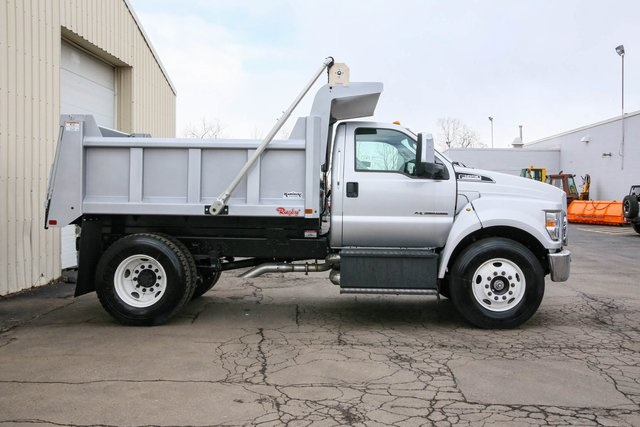 2019 F-650 Regular Cab DRW 4x2, Rugby Dump Body #191297TZ - photo 1