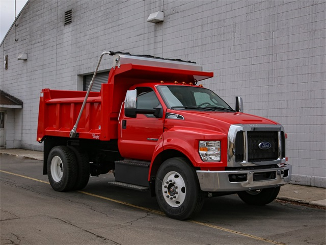 2019 F-650 Regular Cab DRW 4x2, Rugby Dump Body #191336TZ - photo 1