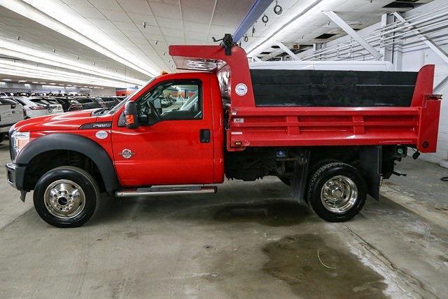 2016 Ford F-550 Regular Cab DRW 4x4, Rugby Dump Body #201471TZA - photo 1