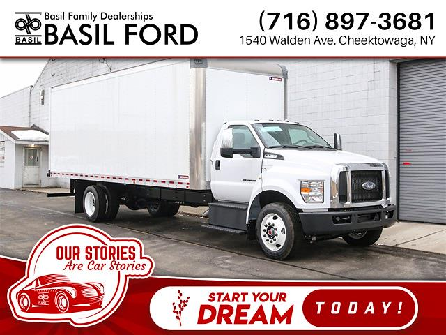 2021 Ford F-750 Regular Cab DRW 4x2, Morgan Dry Freight #210052TZ - photo 1