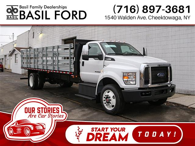 2021 Ford F-750 Regular Cab DRW 4x2, Morgan Stake Bed #210054TZ - photo 1