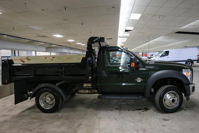2016 Ford F-550 Regular Cab DRW 4x4, Dump Body #210378TZA - photo 1