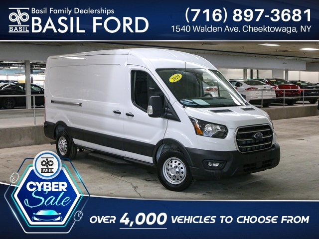 2020 Ford Transit 250 Med Roof AWD, Upfitted Cargo Van #P5115 - photo 1
