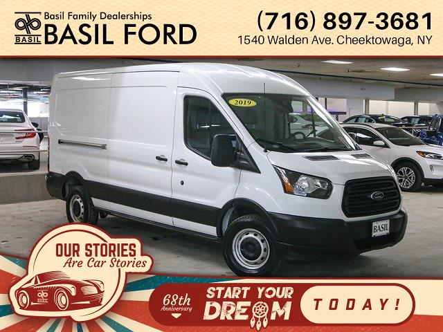 2019 Ford Transit 250 Med Roof 4x2, Empty Cargo Van #R5104 - photo 1