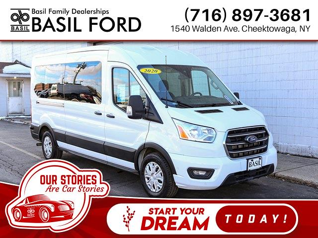 2020 Ford Transit 350 Med Roof 4x2, Passenger Wagon #R5213 - photo 1