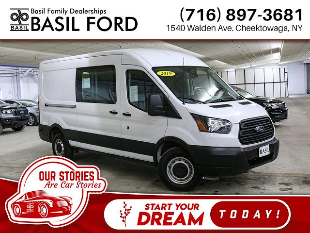 2019 Ford Transit 250 Med Roof 4x2, Empty Cargo Van #R5213A - photo 1