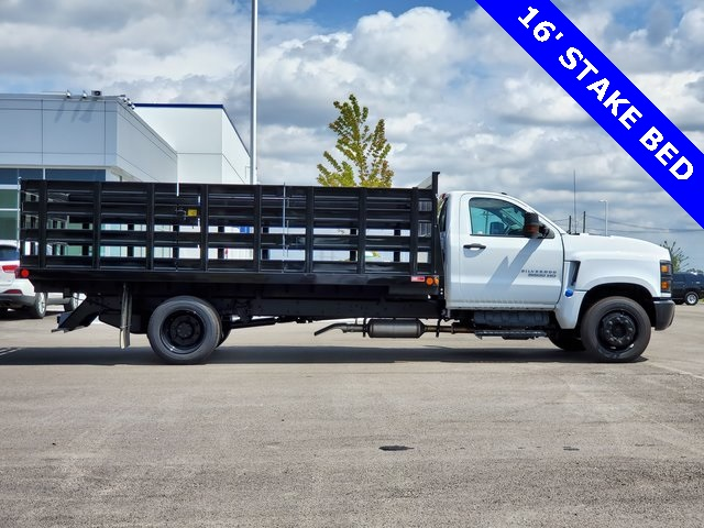 2019 Silverado Medium Duty DRW 4x2,  Monroe Stake Bed #47558 - photo 1