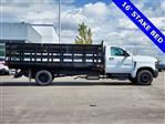 2019 Silverado 5500 Regular Cab DRW 4x2,  Monroe Stake Bed #47558 - photo 1
