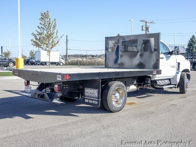 2019 Silverado 5500 Regular Cab DRW 4x2, Monroe Work-A-Hauler II Platform Body #47788 - photo 3