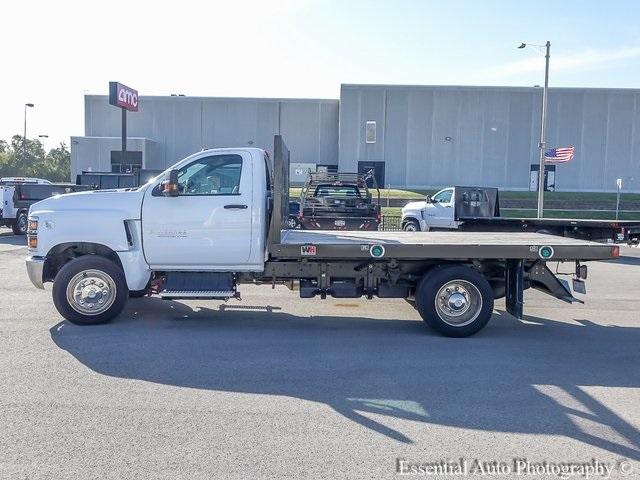 2019 Silverado 5500 Regular Cab DRW 4x2, Monroe Work-A-Hauler II Platform Body #47788 - photo 6