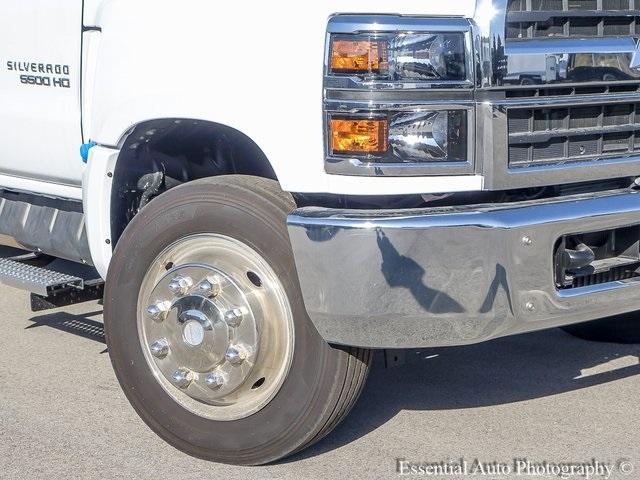 2019 Silverado 5500 Regular Cab DRW 4x2, Monroe Work-A-Hauler II Platform Body #47788 - photo 9