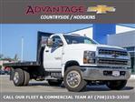 2019 Silverado 5500 Regular Cab DRW 4x2, Monroe Work-A-Hauler II Platform Body #47788 - photo 1