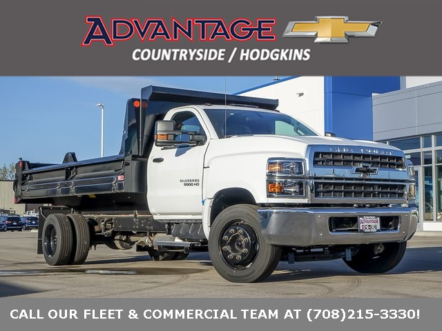 2019 Chevrolet Silverado 5500 Regular Cab DRW 4x2, Crysteel Dump Body #47953 - photo 1