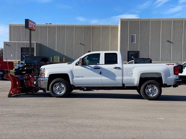 2019 Silverado 2500 Double Cab 4x4, BOSS Snowplow Pickup #48075 - photo 6