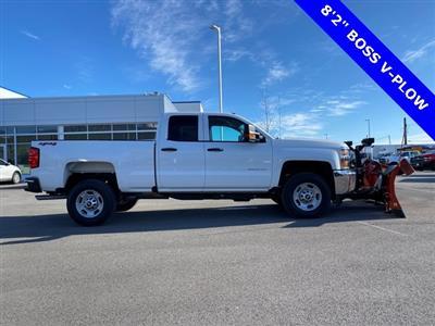 2019 Silverado 2500 Double Cab 4x4, BOSS Snowplow Pickup #48075 - photo 2