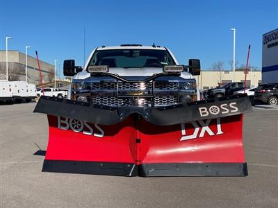 2019 Silverado 2500 Double Cab 4x4, BOSS Snowplow Pickup #48075 - photo 8