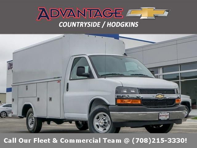 2020 Chevrolet Express 3500 4x2, Reading Service Utility Van #48987 - photo 1