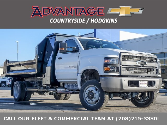 2020 Chevrolet Silverado 5500 Regular Cab DRW 4x4, Knapheide Dump Body #49254 - photo 1