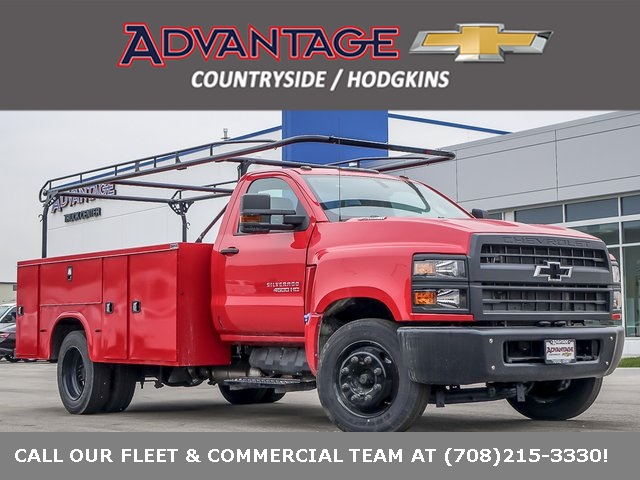 2020 Chevrolet Silverado 4500 Regular Cab DRW 4x2, Knapheide Service Body #49305 - photo 1