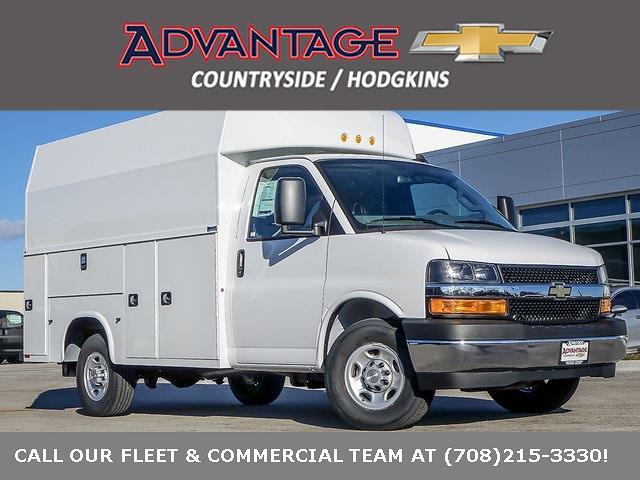 2021 Chevrolet Express 3500 4x2, Knapheide Service Utility Van #49396 - photo 1