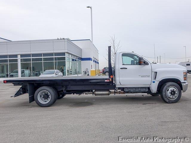 2020 Silverado 5500 Regular Cab DRW 4x2,  Monroe Truck Equipment Versa-Line Stake Body Stake Bed #49439 - photo 11