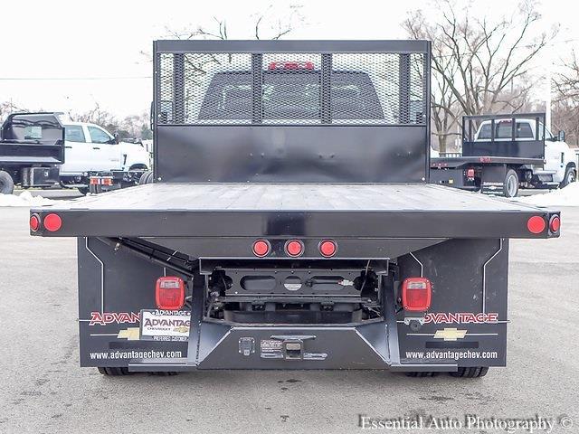 2020 Silverado 5500 Regular Cab DRW 4x2,  Monroe Truck Equipment Versa-Line Stake Body Stake Bed #49439 - photo 13