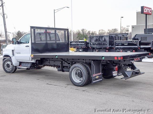 2020 Silverado 5500 Regular Cab DRW 4x2,  Monroe Truck Equipment Versa-Line Stake Body Stake Bed #49439 - photo 14