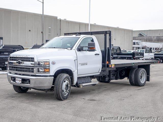 2020 Silverado 5500 Regular Cab DRW 4x2,  Monroe Truck Equipment Versa-Line Stake Body Stake Bed #49439 - photo 16
