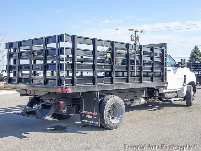 2020 Silverado 5500 Regular Cab DRW 4x2,  Monroe Truck Equipment Versa-Line Stake Body Stake Bed #49439 - photo 3