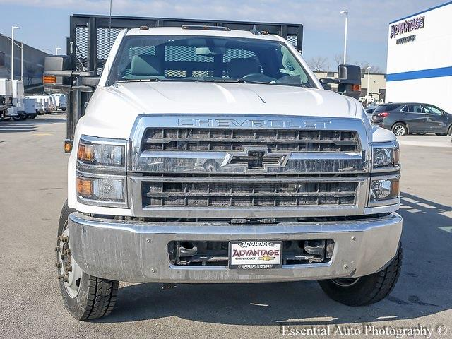 2020 Silverado 5500 Regular Cab DRW 4x2,  Monroe Truck Equipment Versa-Line Stake Body Stake Bed #49439 - photo 8