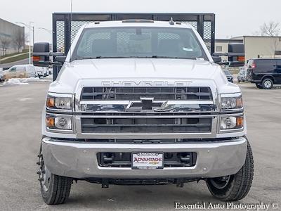 2020 Silverado 5500 Regular Cab DRW 4x2,  Monroe Truck Equipment Versa-Line Stake Body Stake Bed #49439 - photo 17