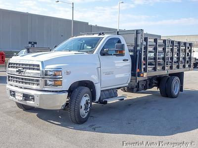 2020 Silverado 5500 Regular Cab DRW 4x2,  Monroe Truck Equipment Versa-Line Stake Body Stake Bed #49439 - photo 7