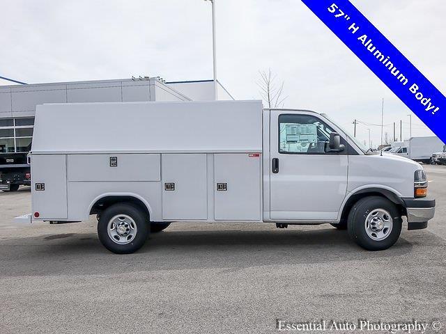 2020 Chevrolet Express 3500 4x2, Reading Service Utility Van #49519 - photo 1