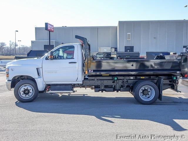 2020 Silverado 5500 Regular Cab DRW 4x2,  Monroe Truck Equipment MTE-Zee Dump Body #49659 - photo 6