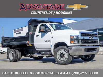 2020 Silverado 5500 Regular Cab DRW 4x2,  Monroe Truck Equipment MTE-Zee Dump Body #49659 - photo 1