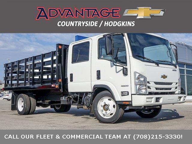 2020 Chevrolet LCF 4500 Crew Cab DRW 4x2, Monroe Platform Body #49692 - photo 1