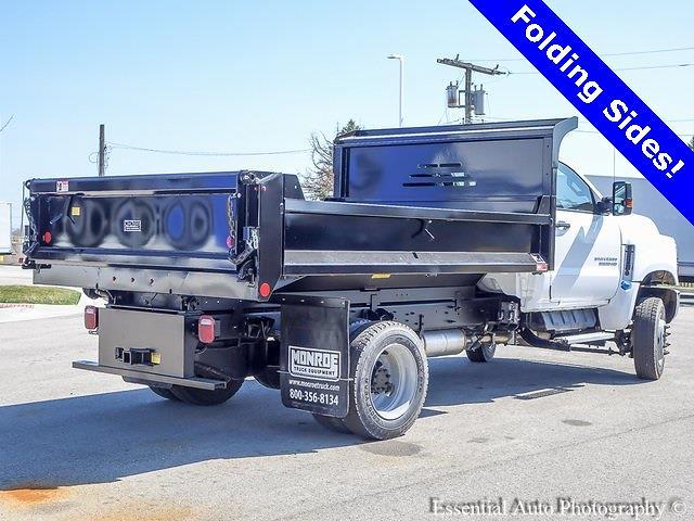 2020 Silverado 5500 Regular Cab DRW 4x4,  Monroe Truck Equipment MTE-Zee Dump Body #49765 - photo 3