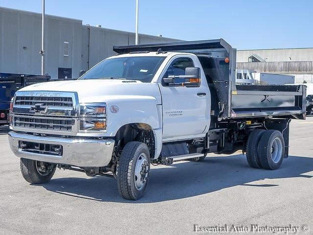 2020 Silverado 5500 Regular Cab DRW 4x4,  Monroe Truck Equipment MTE-Zee Dump Body #49765 - photo 7
