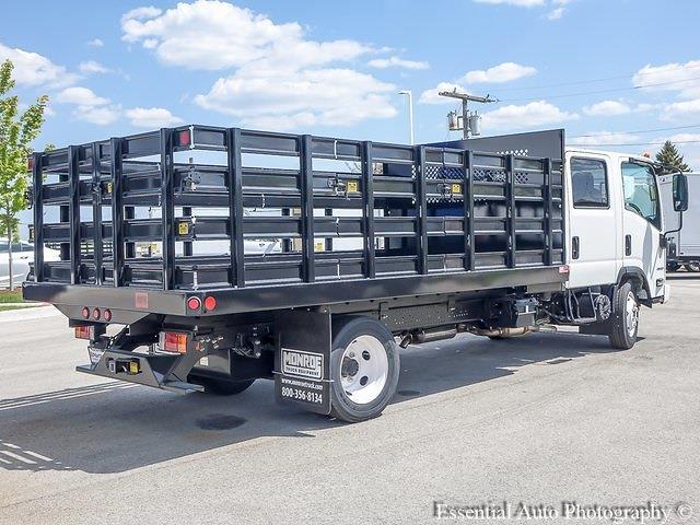 2020 LCF 4500 Crew Cab DRW 4x2,  Monroe Truck Equipment Versa-Line Stake Body Stake Bed #49790 - photo 20
