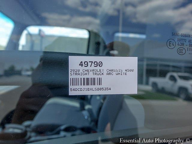 2020 LCF 4500 Crew Cab DRW 4x2,  Monroe Truck Equipment Versa-Line Stake Body Stake Bed #49790 - photo 19