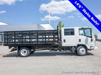 2020 LCF 4500 Crew Cab DRW 4x2,  Monroe Truck Equipment Versa-Line Stake Body Stake Bed #49790 - photo 2