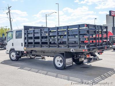 2020 LCF 4500 Crew Cab DRW 4x2,  Monroe Truck Equipment Versa-Line Stake Body Stake Bed #49790 - photo 4
